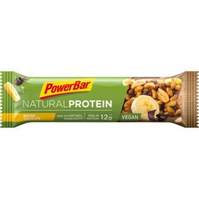 PowerBar Natural Protein Bar Box 24 x 40g Banana Chocolate (Vegan)